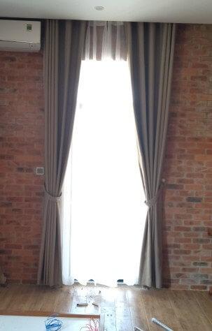 mẫu rèm 2 lớp chống nắng