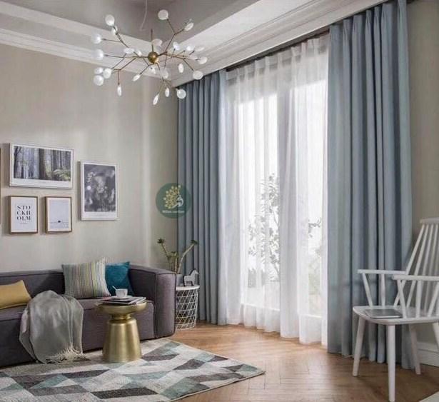 mẫu rèm cửa đẹp phòng khách