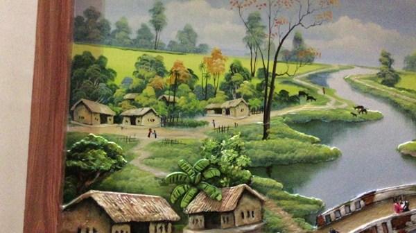 mấu tranh đẹp màu sắc quê hương