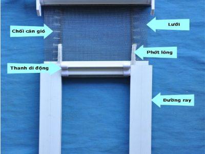 phụ kiện cửa lưới chống muỗi