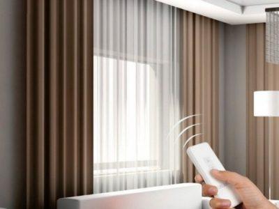 mẫu rèm cửa thông minh tự động