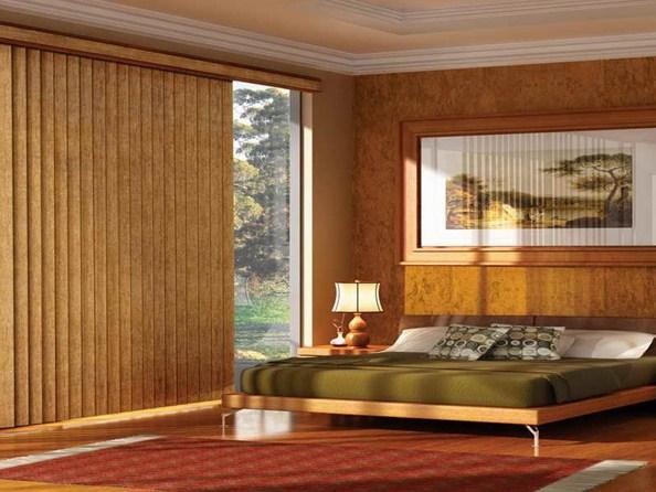 rèm gỗ lá dọc đẹp tự nhiên