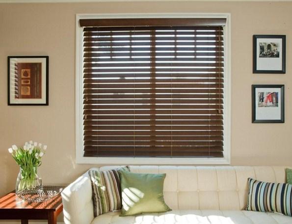 rèm sáo lá gỗ cho cửa sổ