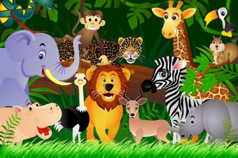 mẫu tranh sinh động của các con vật