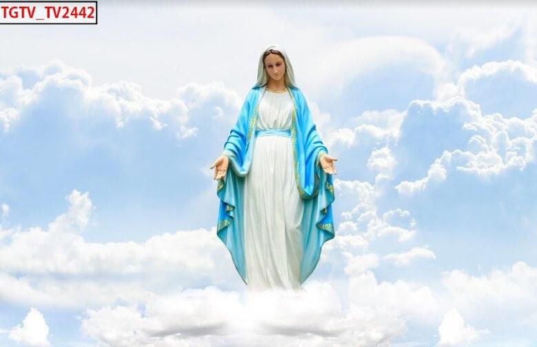 Mẫu tranh dán 3d thiên chúa giáo