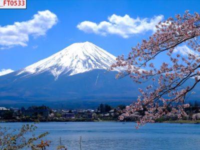 tranh phong cảnh núi tuyết