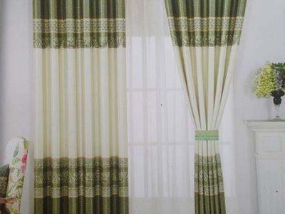 Mẫu rèm cửa bảo vệ màu gỗ