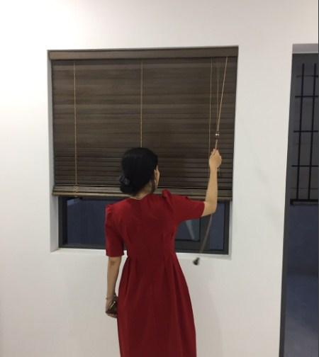 rèm gỗ cho cửa sổ
