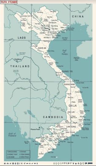 mẫu tranh 3d in hình bản đồ