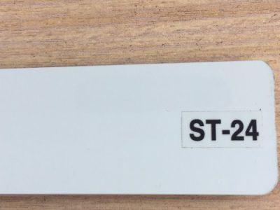 rèm nhôm màu xám nhạt st-24