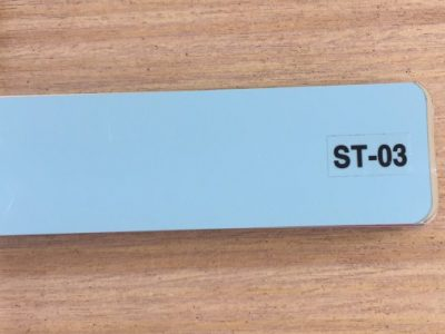 rèm nhôm màu xanh biển st-03
