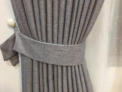 rèm vải bố