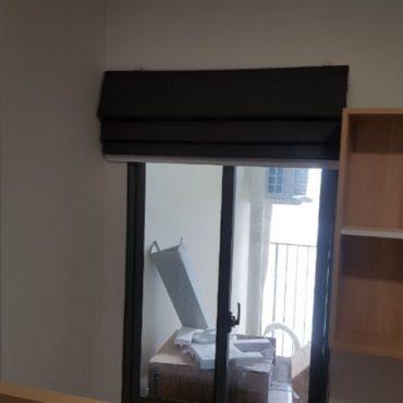 rèm xếp lớp cửa sổ chung cư