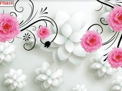Tranh Hoa Lá FT0859